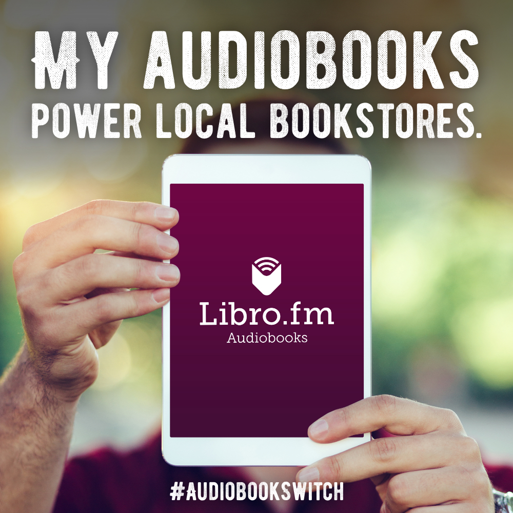 My audiobooks support bookstores